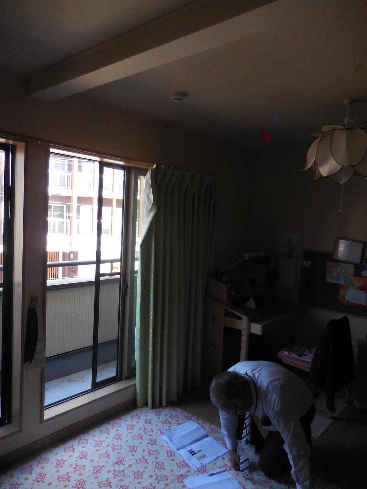 1部屋を2部屋に間仕切りリフォームした施工例|
